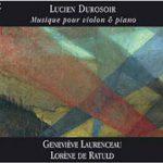 Pochette CD Durosoir