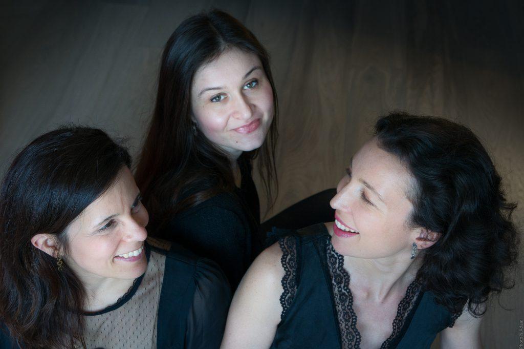 Raquele Magalhaes, Aurélienne Brauner et Lorène de Ratuld