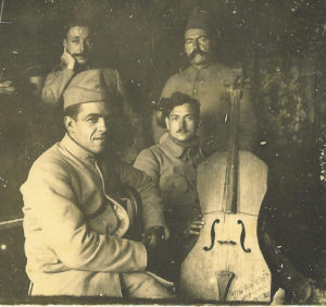 Portraits de musiciens 1914-18