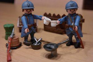 Soldats jouets